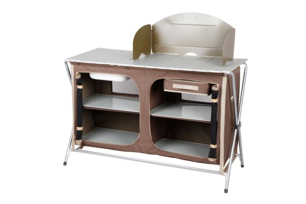 Camp Kitchen Deluxe with Sink